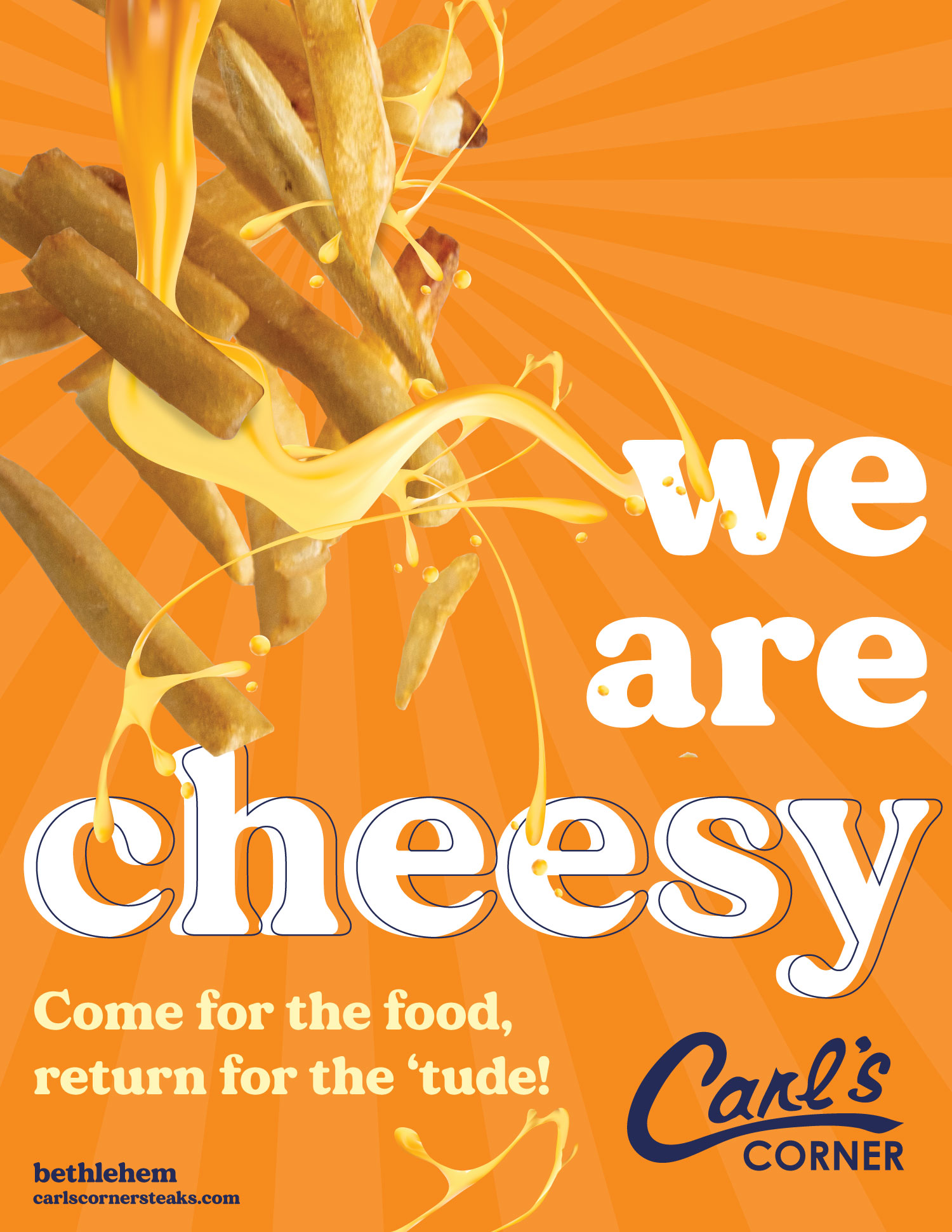 We Are Cheesy! Come for the food, return for the 'tude at Carl's Corner